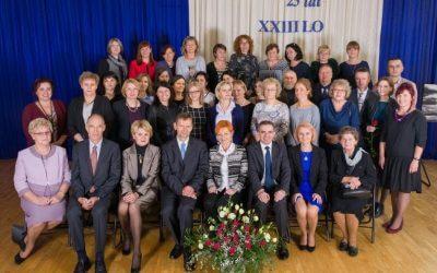 25 lat XXIII Liceum Ogólnokształcącego