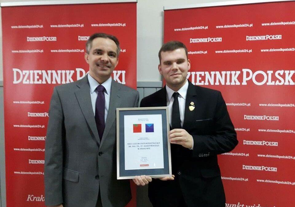 Wygraliśmy plebiscyt Dziennika Polskiego – Najlepsza Mała Szkoła w Małopolsce!!