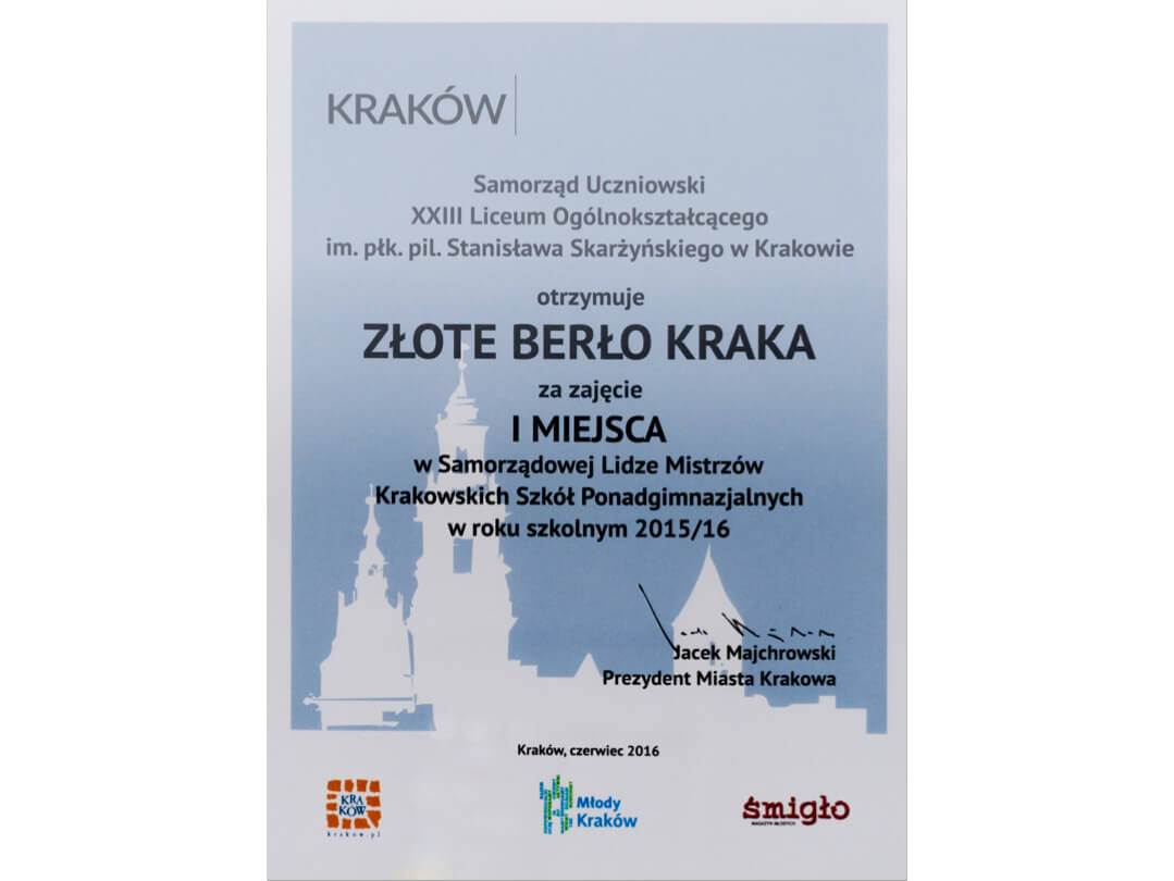 """""""Złote Berło Kraka"""""""