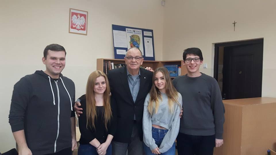 Spotkanie z senatorem RP Jerzym Fedorowiczem