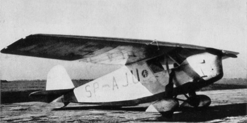 Samolot RWD-5bis Stanisława Skarżyńskiego