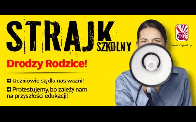 Strajk szkoły – komunikat Dyrektora